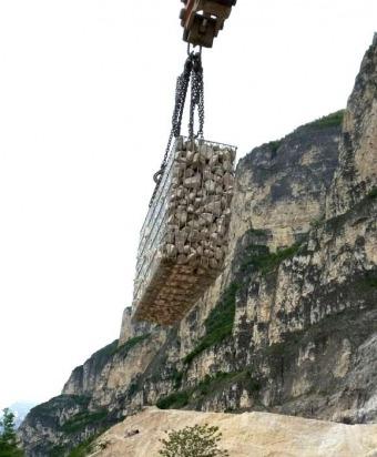 Gabbioni, gabbionate, gabbioni italia, muri di recinzione, posa in ...